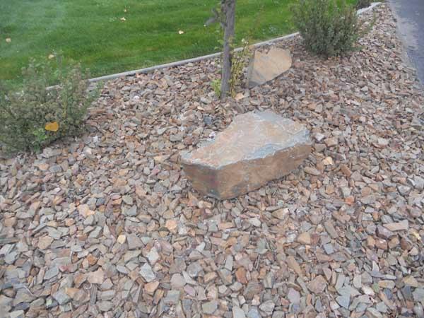 Brownstone Rock with Brownstone Boulders