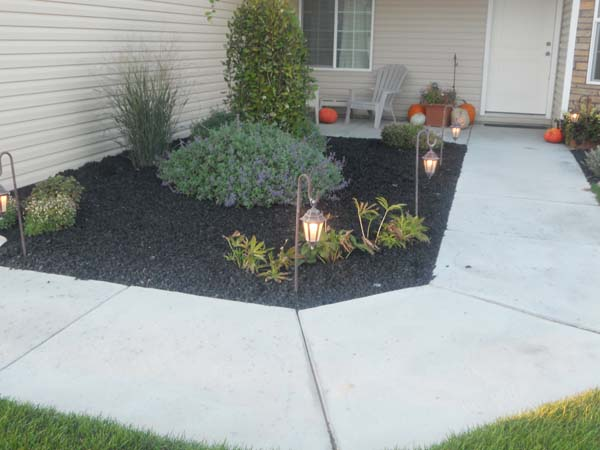 Rubber Mulch Landscaping