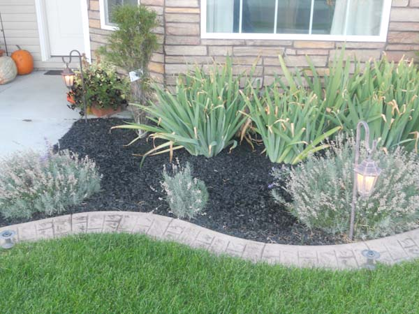 Rubber Mulch Landscaping - Wolverine Rock and Mulch