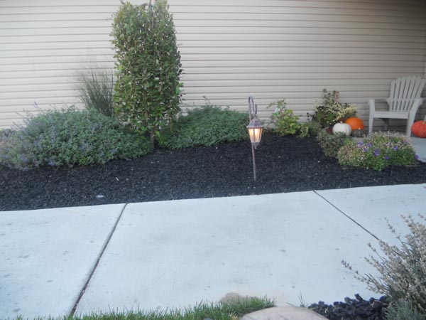 rubber mulch provides a great low maintenance base for any landscaping application many landscapers in idaho falls use our rubber mulch as a - Black Rubber Mulch