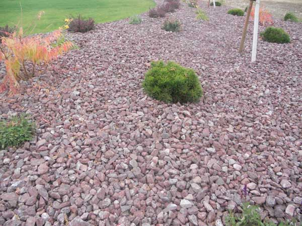 Montana Red is a popular landscape rock in Idaho Falls and all of Eastern  Idaho. Great for uses in residental and commercial landscaping application. - Montana Red Rock Landscape - Wolverine Rock And Mulch