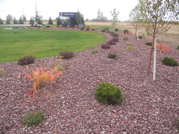 Red Landscaping Stone : Red landscaping rock outdoor goods