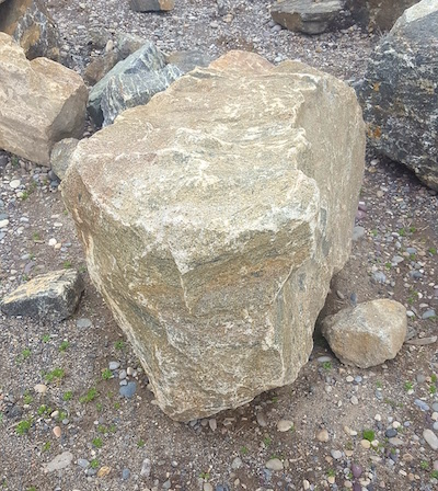 Large Rocks in Idaho Falls