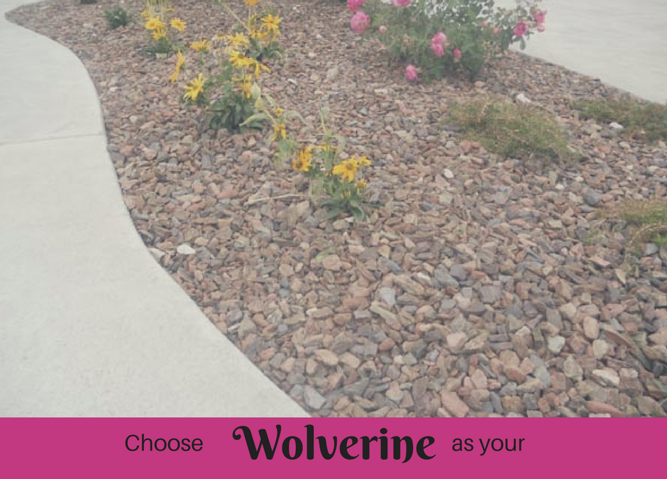 Wolverine Rocks and Rubber: A Local Idaho Landscaping Solution